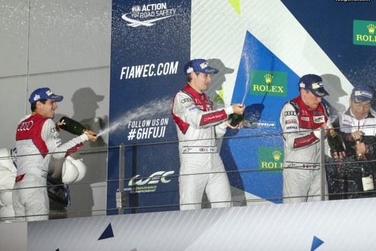 WEC – 2ème place pour Audi aux 6 Heures de Fuji derrière Toyota