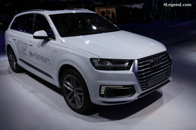 paris 2016 audi a3 sportback e tron et audi q7 e tron 3 0 tdi quattro. Black Bedroom Furniture Sets. Home Design Ideas