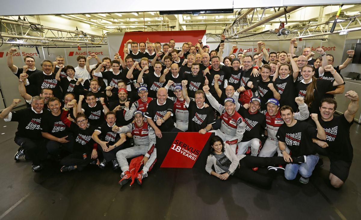 WEC - Un bel hommage de Toyota à Audi aux 6 Heures de Bahreïn - Audi salue ses 18 ans en endurance