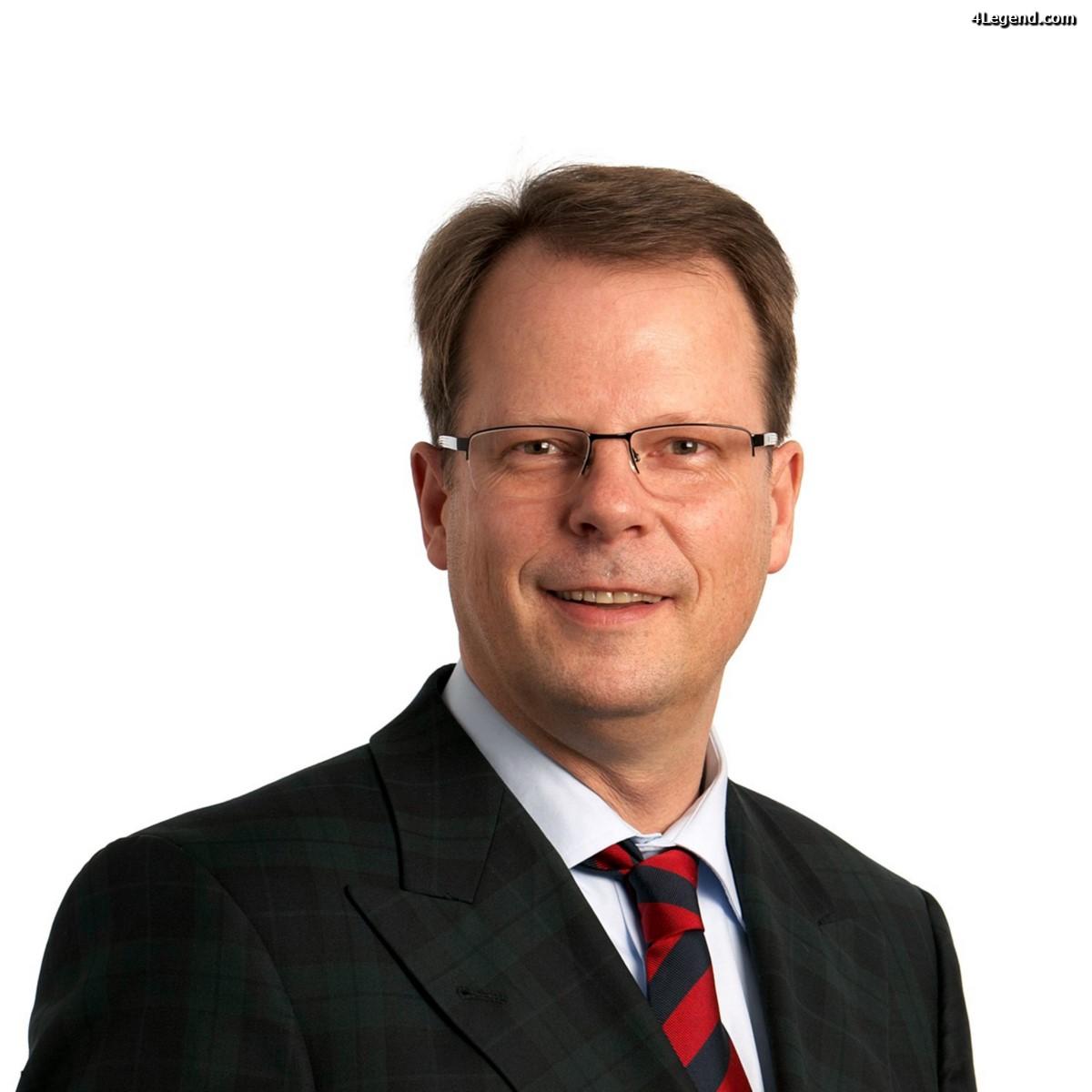 Peter Mertens - nouveau responsable du Développement Technique et membre du Directoire de AUDI AG