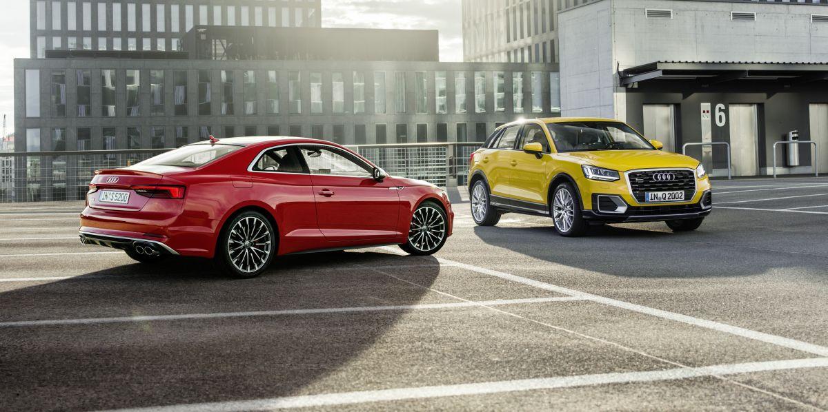 Les Audi Q2 et Audi A5 Coupé reçoivent le Prix du