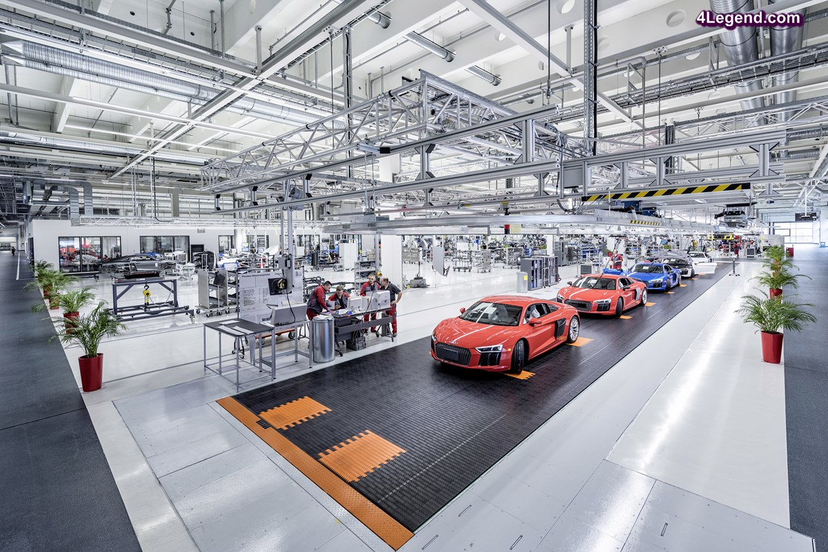 Audi R8 Kreathon 2016 - 96 heures d'innovation dans l'usine R8 de Böllinger Höfen
