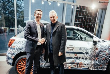 Vente aux enchères d'une Audi Q2 décorée par Jean Paul Gaultier à l'Operngala Berlin 2016