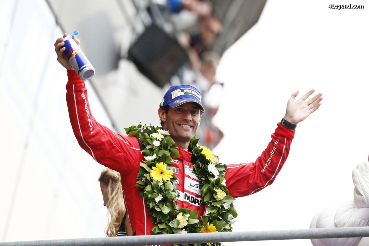 Le pilote Porsche Mark Webber prend sa retraite en sport automobile et conseille Porsche