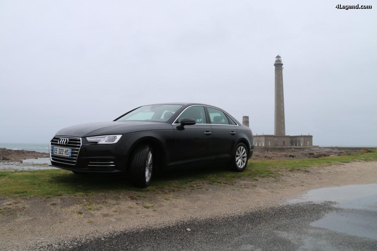 Essai Audi A4 berline 2.0 TDI 150 ch Finition Design - Un bon compromis