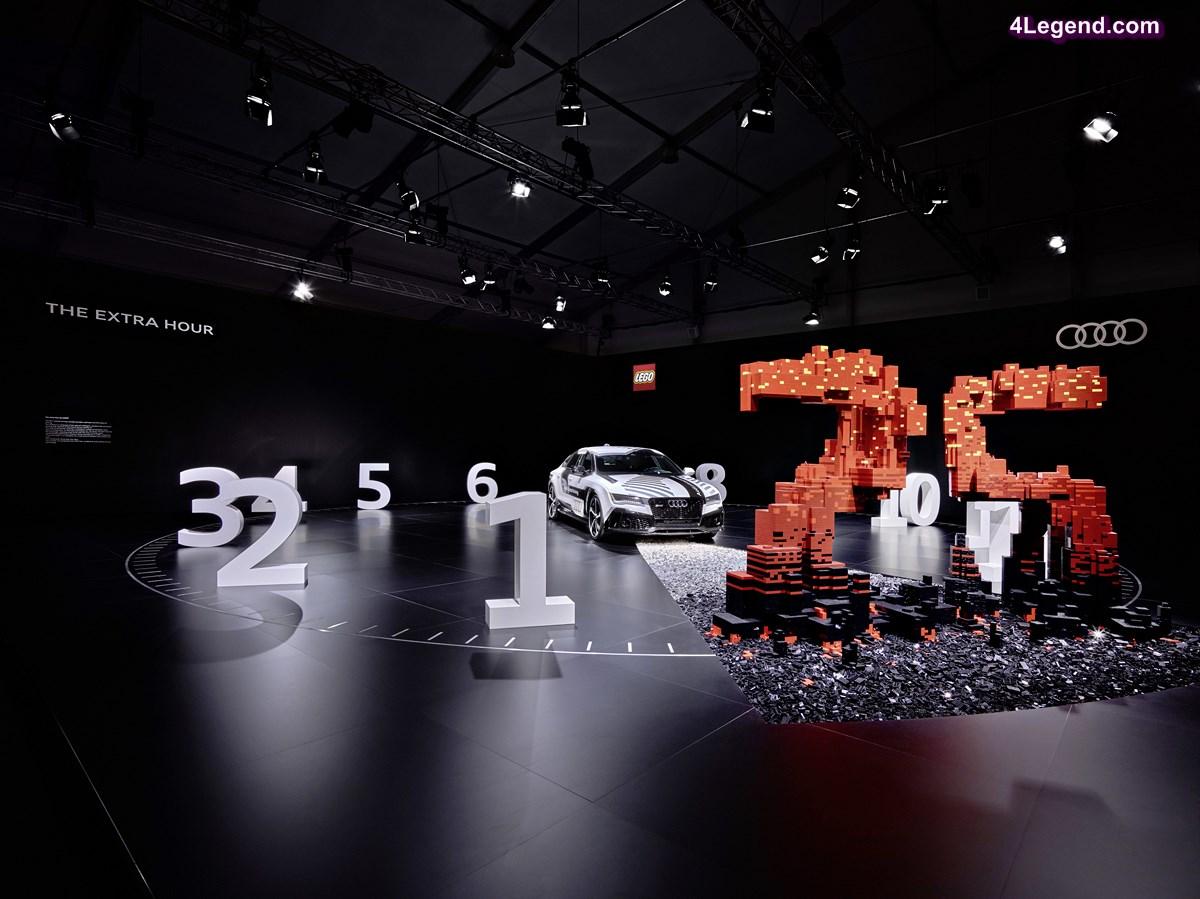 « The extra hour » : une exposition conjointe Audi et LEGO au Design Miami