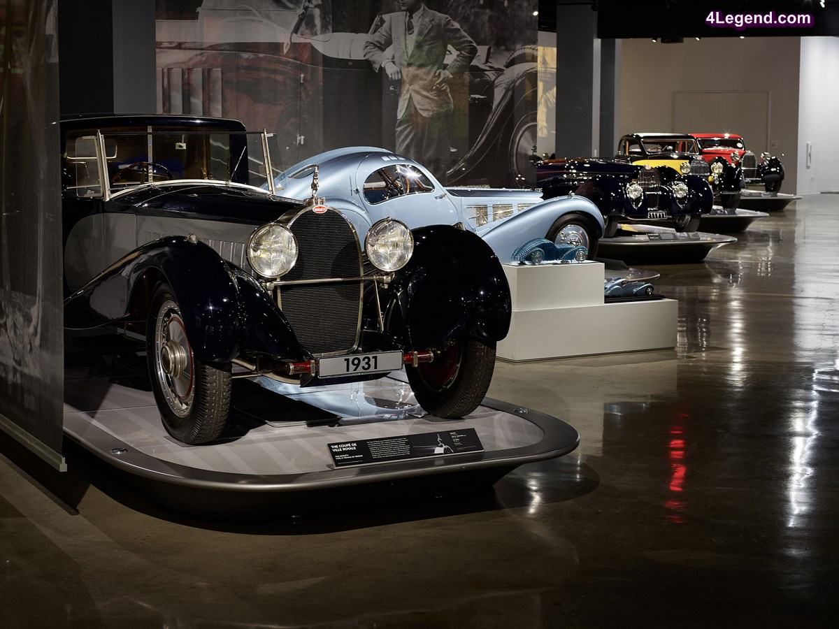 « The Art of Bugatti » - Exposition unique autour de l'univers de Bugatti au Petersen Automotive Museum de Los Angeles