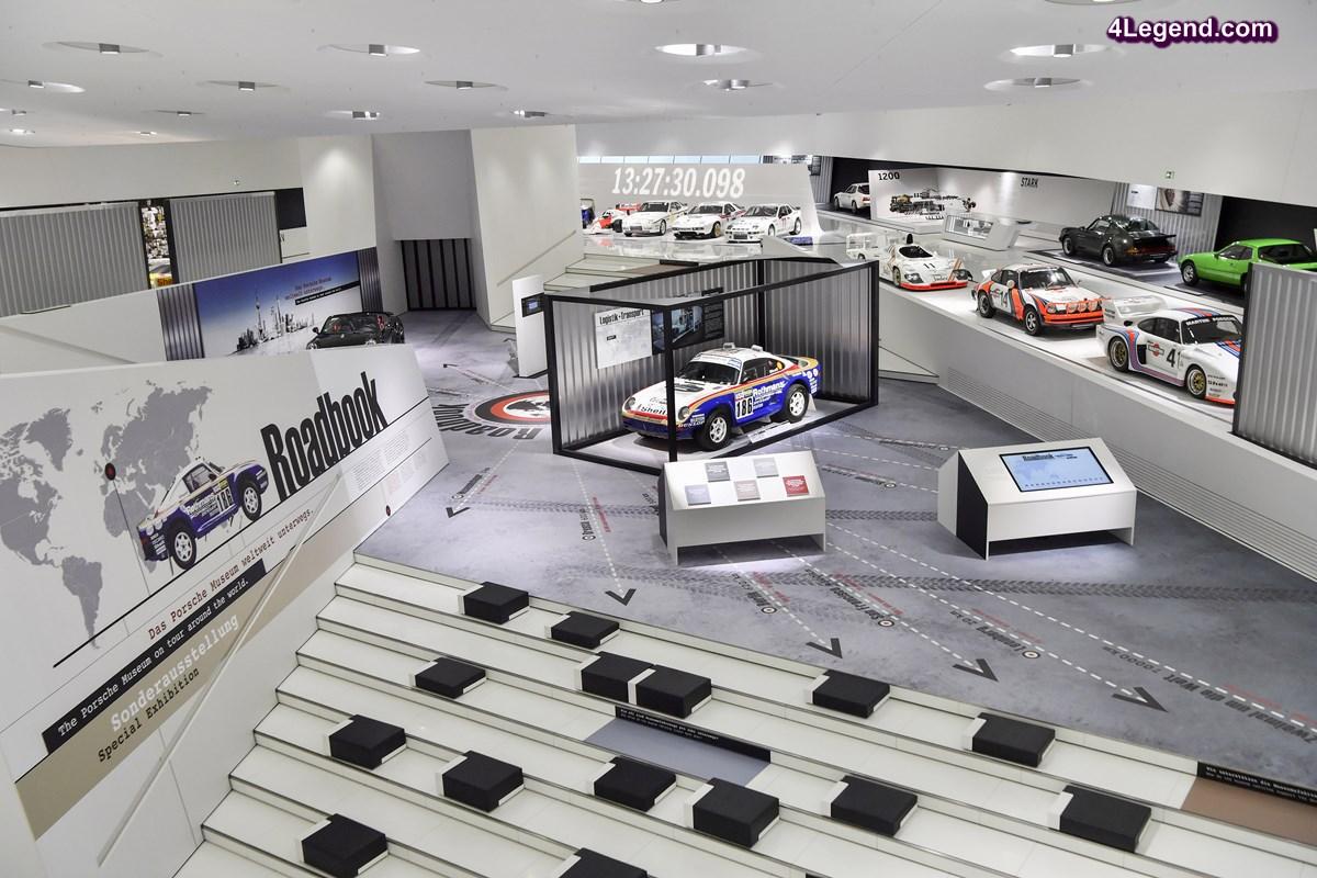 Roadbook - Nouvelle exposition au Porsche Museum