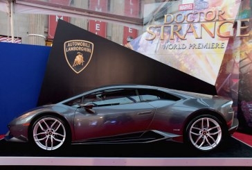Une Lamborghini Huracán Coupé mise en avant dans le dernier film Doctor Strange des Studios Marvel