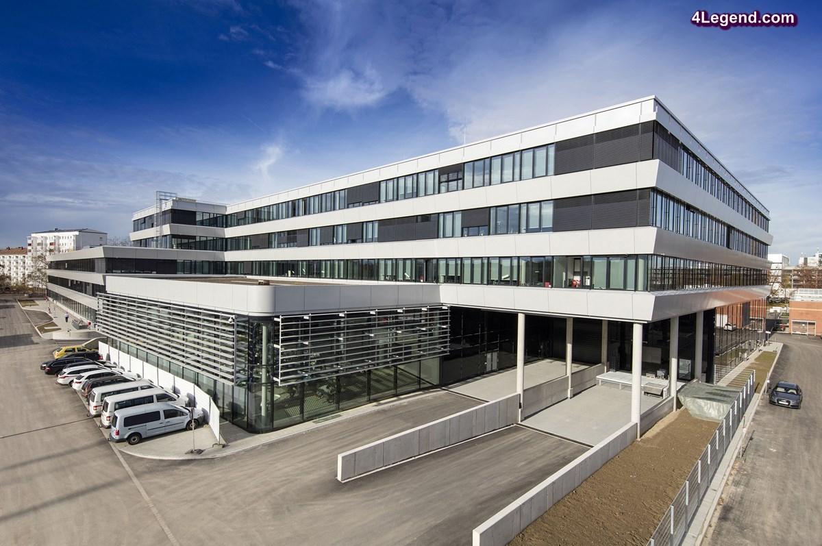 Ouverture d'un nouveau complexe de bureaux pour Audi à Ingolstadt - Une meilleure façon de travailler