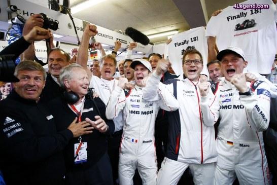 Porsche écarte les pilotes Romain Dumas et Marc Lieb de l'équipe LMP1 pour 2017