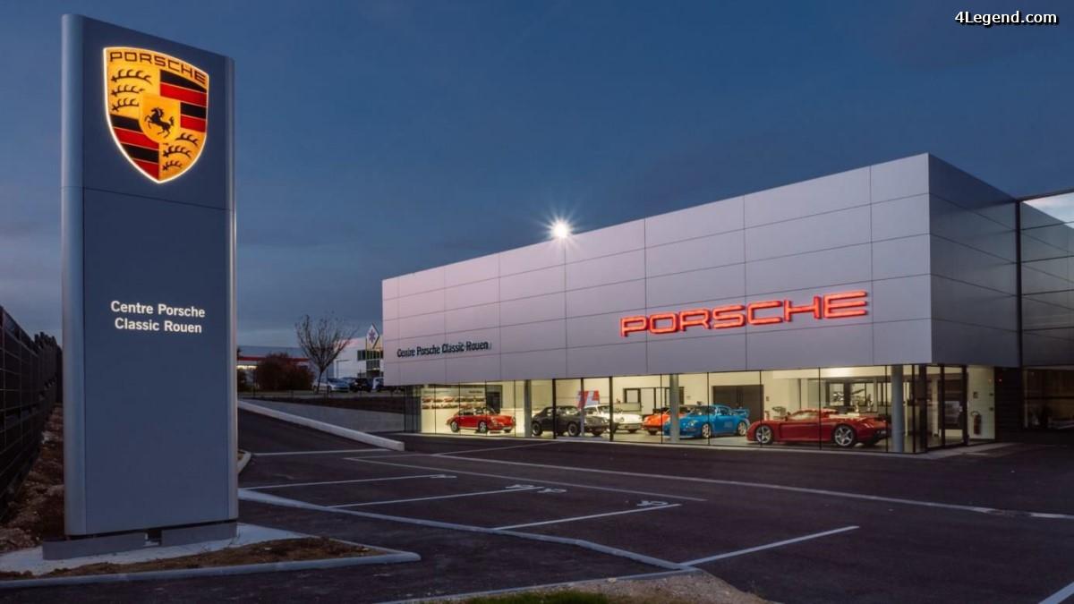 Ouverture du premier Centre Porsche Classic de France à Rouen