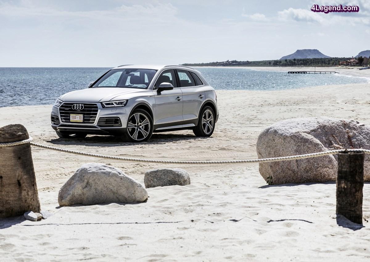 Ouverture des commandes de la seconde génération de l'Audi Q5 - Maj. Tarifs