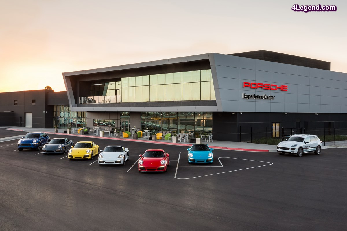 Ouverture d'un nouvel Porsche Experience Center à Los Angeles