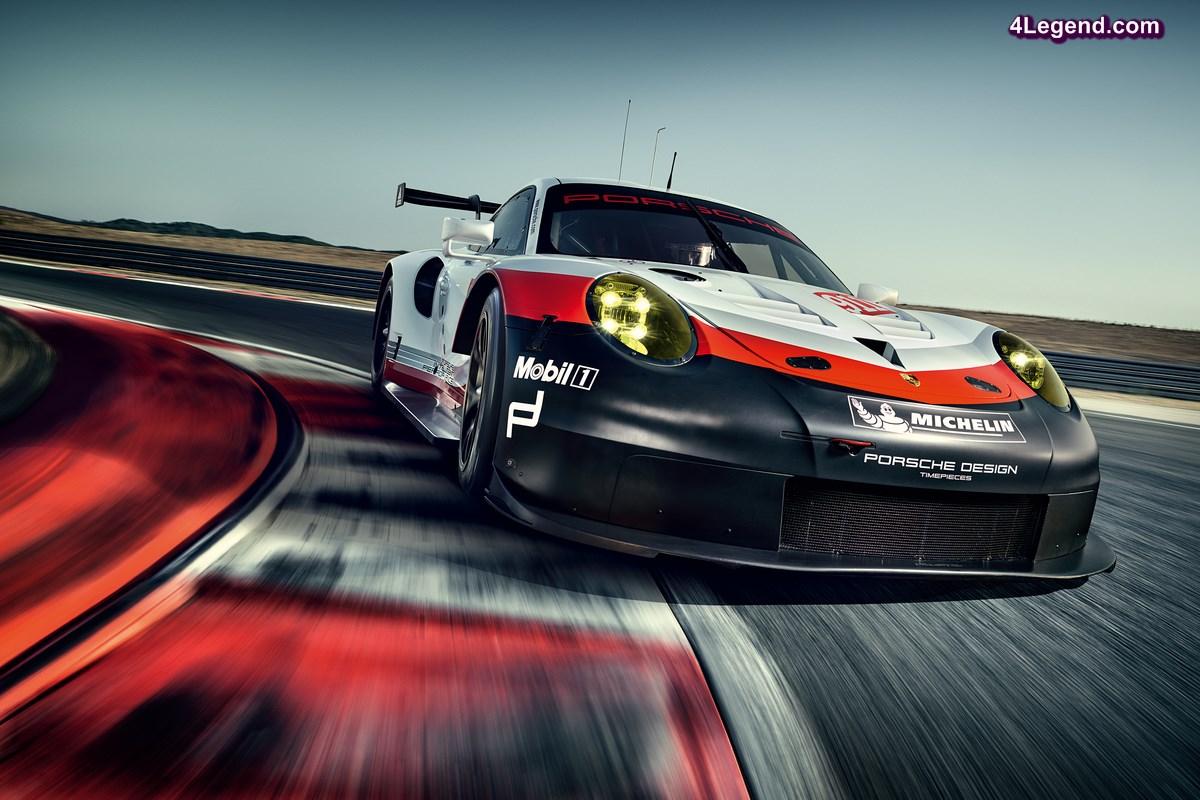 Nouvelle Porsche 911 RSR - Cap sur Le Mans