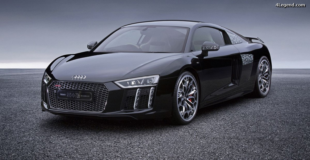Audi R8 Star of Lucis - L'Audi R8 faite pour le film Kingsglaive : Final Fantasy XV vendue au Japon via un tirage au sort