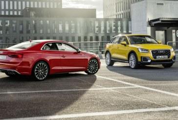 Les Audi Q2 et Audi A5 Coupé reçoivent le Prix du «Volant d'or»