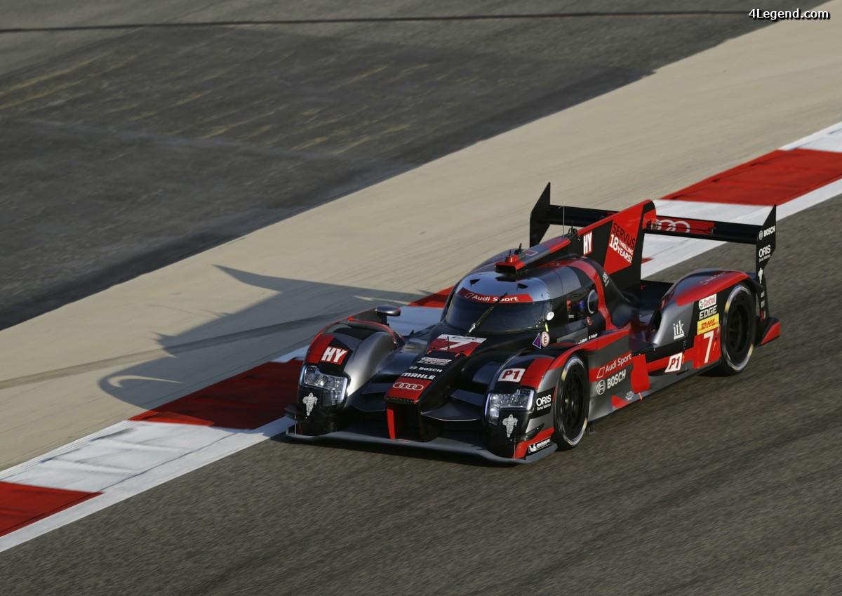 WEC - Dernière pole position pour Audi aux 6 Heures de Bahreïn