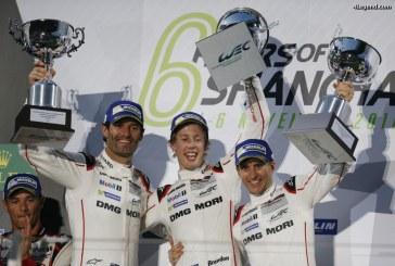 WEC – Nouvelle victoire de Porsche aux 6 Heures du Shanghai