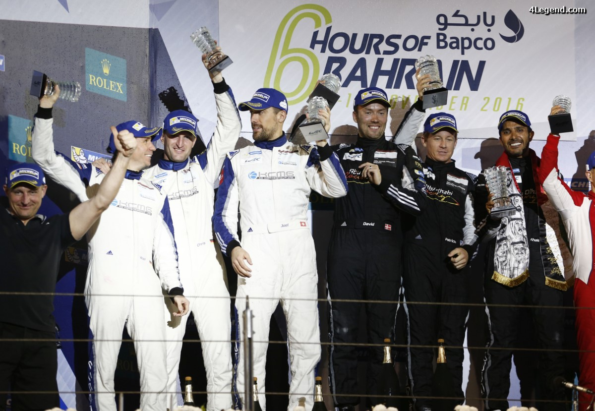 WEC - Deuxième victoire cette saison pour l'équipe cliente Porsche Abu Dhabi Proton Racing avec la Porsche 911 RSR