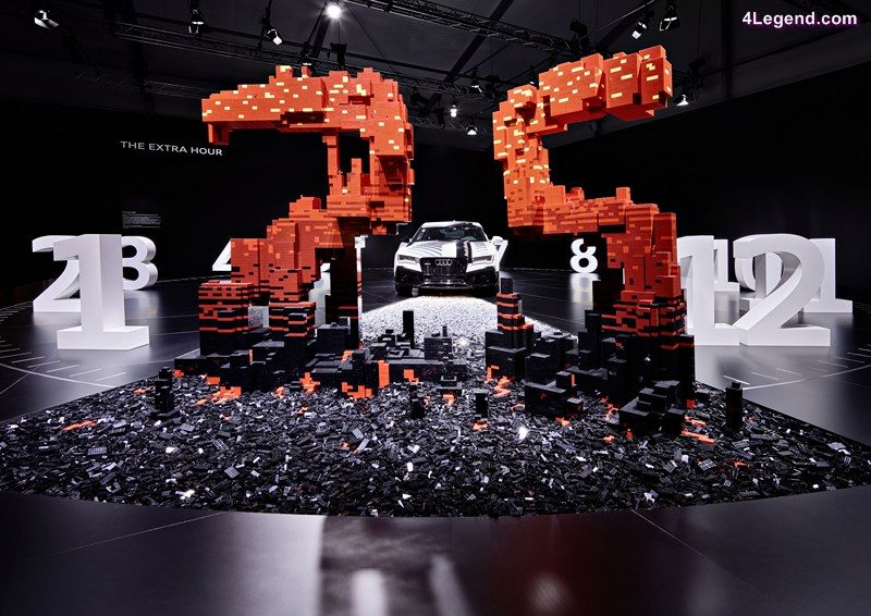 "More freedom thanks to more time: the central customer benefit offered by autonomous driving is being showcased by Audi at Design Miami/. Audi worked together with the LEGO Group to develop ""The extra hour"" installation."