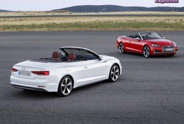 Nouvelles Audi A5 & S5 Cabriolet 2017