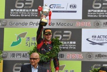 Audi remporte avec sa R8 LMS la Coupe du Monde FIA GT à Macao