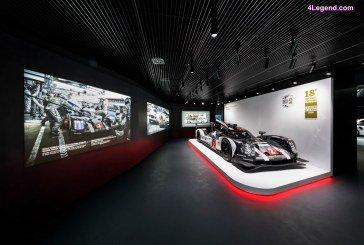 Re-design du pavillon Porsche à l'Autostadt à Wolfsburg