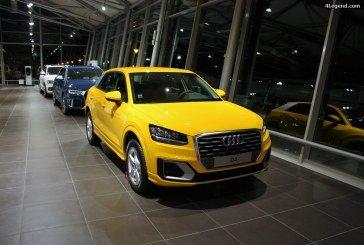 Audi Q2, le débarquement en concession.