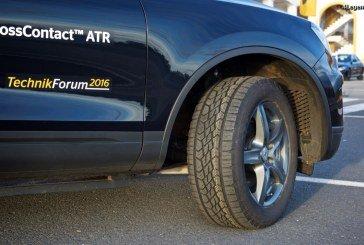 TechnikForum 2016 -Pneu Continental CrossContact ATR – Un pneu routier pour le tout terrain