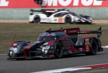 WEC – Avant-dernière course décevante pour Audi Motorsport à Shanghai – 5 & 6ème place