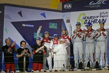 WEC – Un superbe doublé Audi pour son retrait de l'endurance aux 6 Heures de Bahreïn