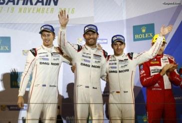 WEC – Podium et Titre constructeurs pour Porsche aux 6 Heures de Bahreïn 2016