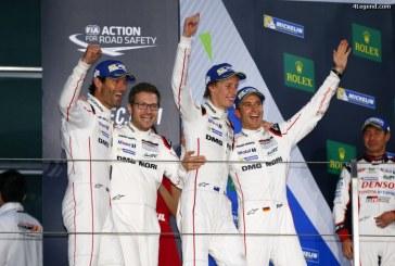 WEC – Porsche gagne le titre de champion du monde des constructeurs 2016 avec sa 919 Hybrid aux 6 Heures de Shanghai