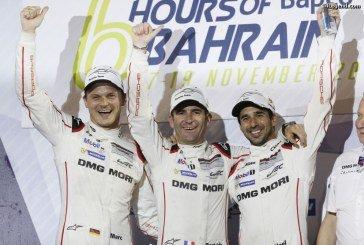 WEC – Les pilotes Porsche victorieux au Mans remportent le titre des pilotes du Championnat du Monde FIA 2016