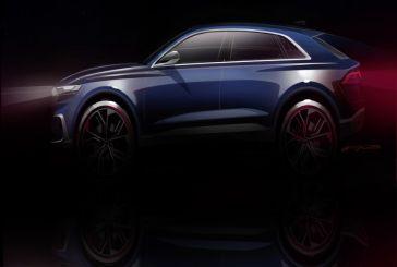 Audi Q8 concept - Première mondiale au salon de Détroit 2017