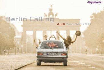 Nouveau calendrier 2017 d'Audi Tradition :