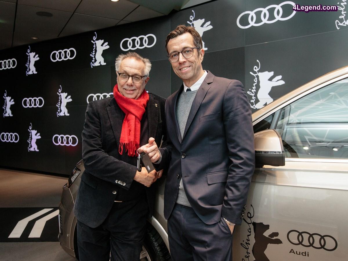 Audi étend son partenariat avec le Festival international du film de Berlin jusqu'en 2019