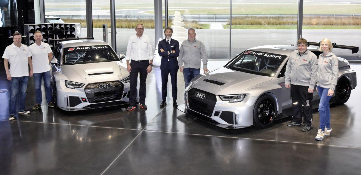 Premières livraisons de l'Audi RS 3 LMS