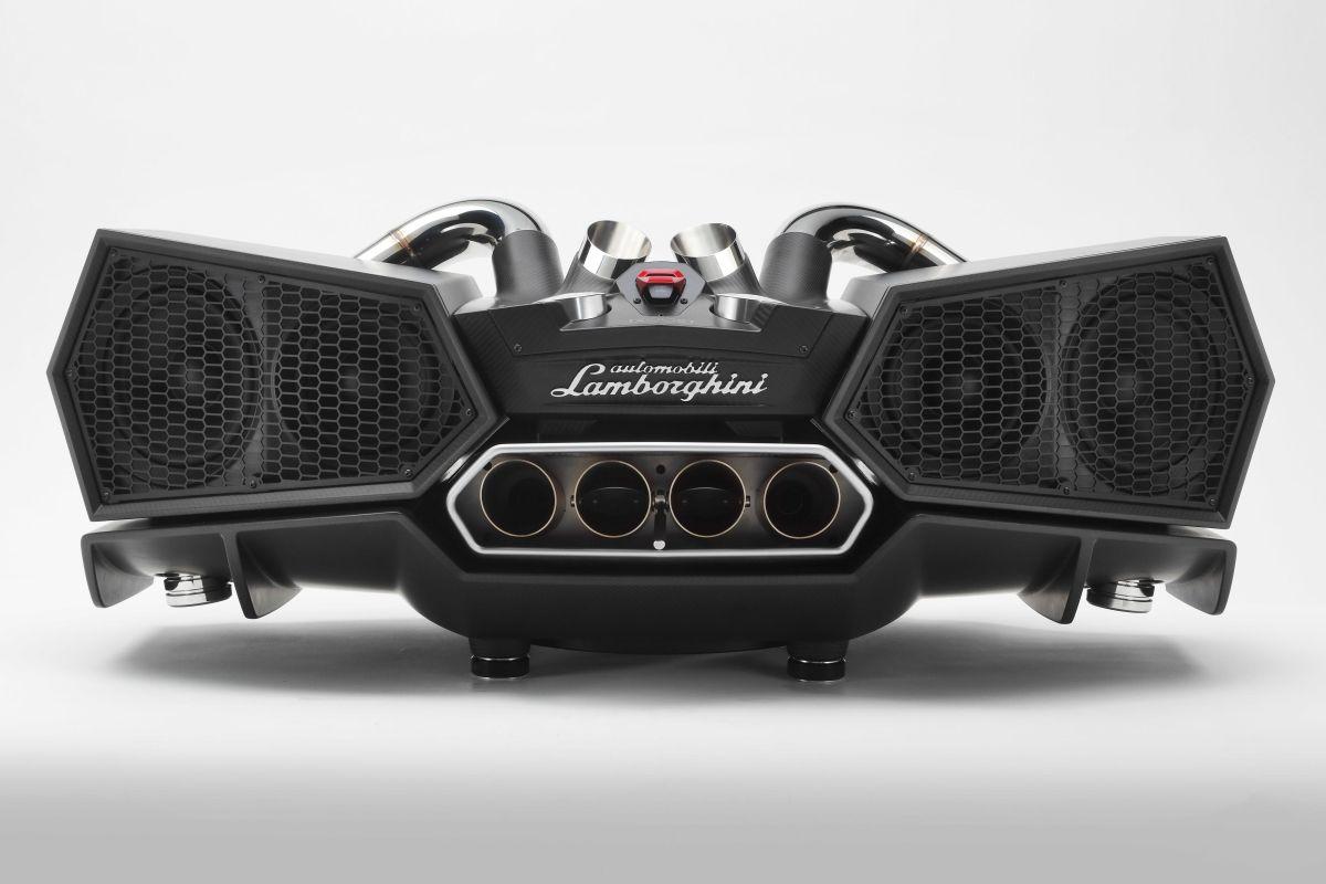 EsaVox - Un nouveau système audio haut de gamme au design de la Lamborghini Aventador