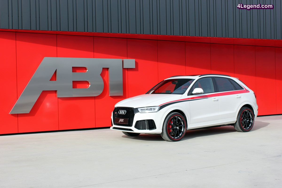 ABT RS Q3 performance - Une Audi RS Q3 de plus de 430 ch