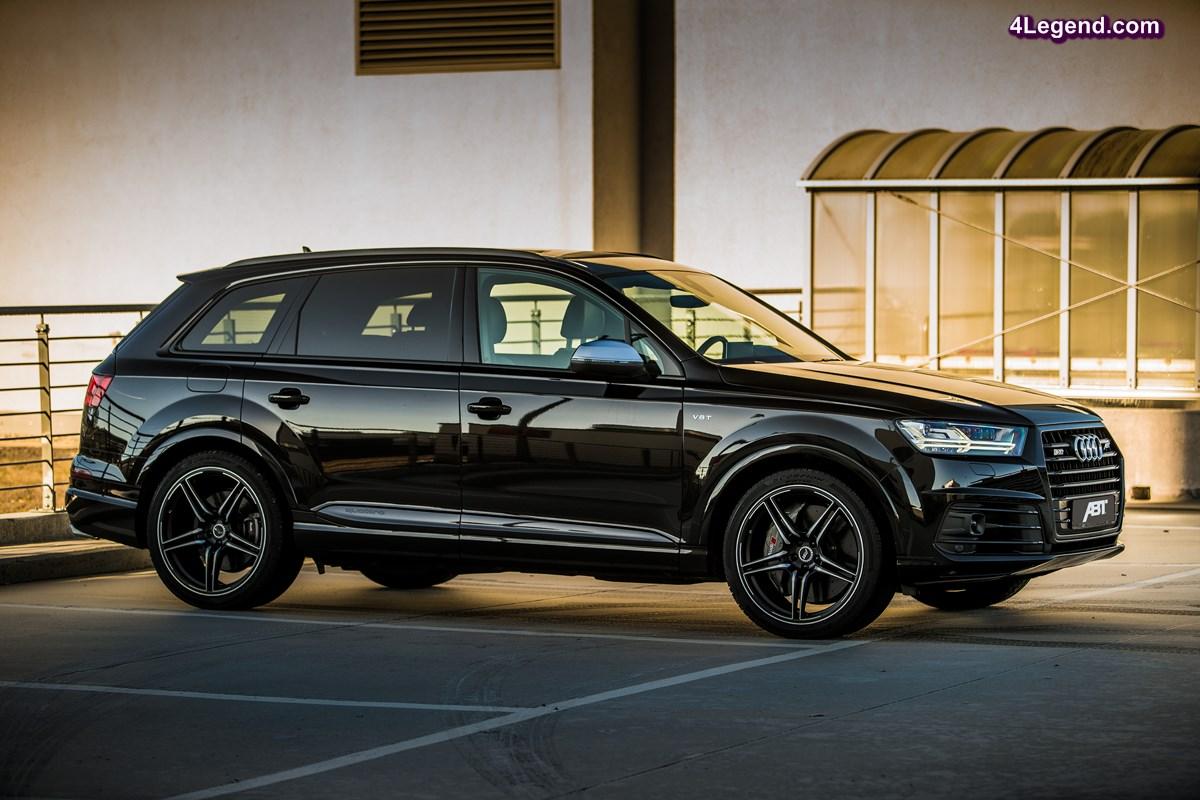 ABT SQ7 - Une Audi SQ7 de 520 ch et 970 Nm de couple