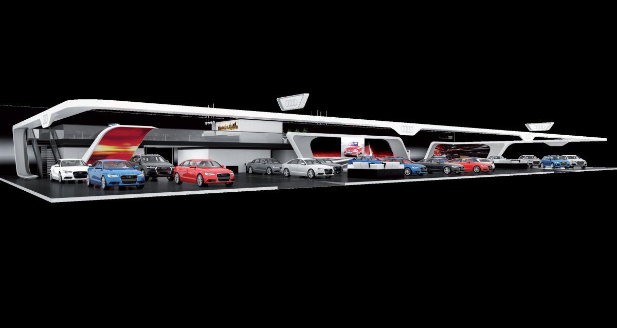 Audi au 95e Salon de l'Auto de Bruxelles - Audi exclusive Lounge