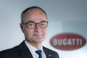 Stefan Ellrott devient le nouveau Directeur du Développement de Bugatti
