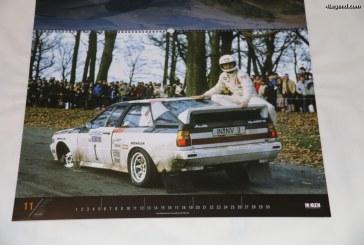 Calendrier Rally History 2017 sur les voitures de rallye mythiques du Groupe B avec notamment des Audi by McKlein