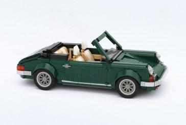Une Porsche 911 Cabriolet en LEGO via le kit de la Mini Cooper 10242