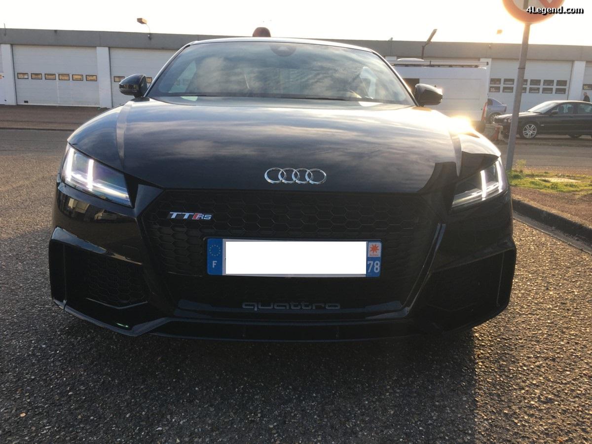 Arrivée de l'Audi TT RS en concession - 1ère prise en main