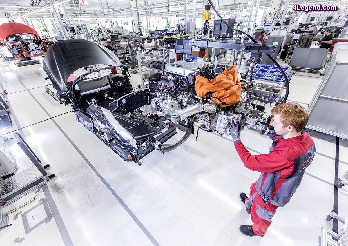 Audi étend la garantie de l'emploi jusqu'en 2020
