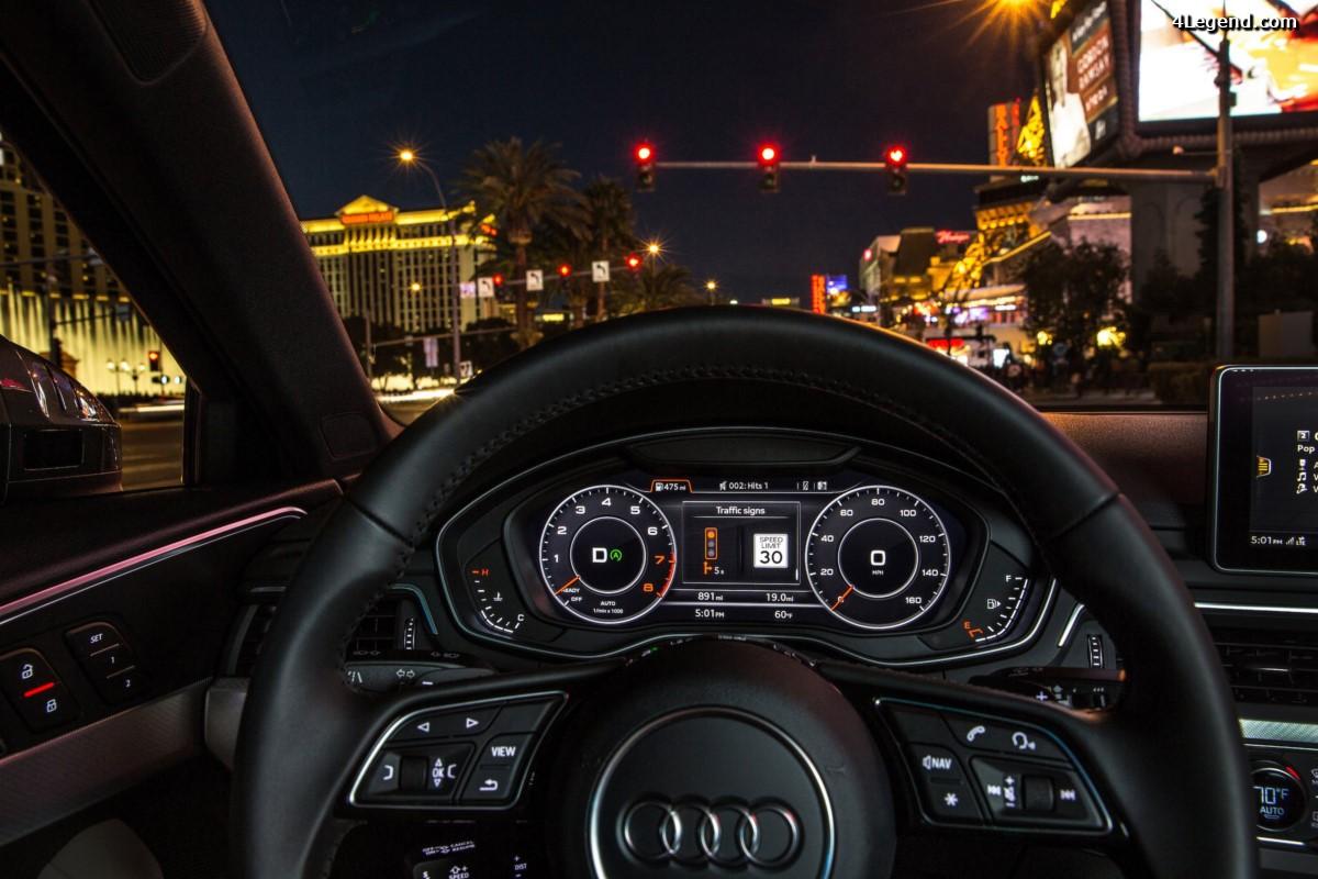 Audi se connecte au réseau de feux de signalisation aux Etats-Unis