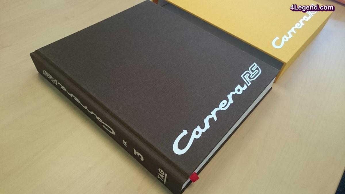 Livre Porsche « Carrera RS » - Disponible en français à seulement 210 exemplaires - TAG Motorbooks